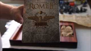 Unboxing the Total War: Rome 2 Collectors Edition