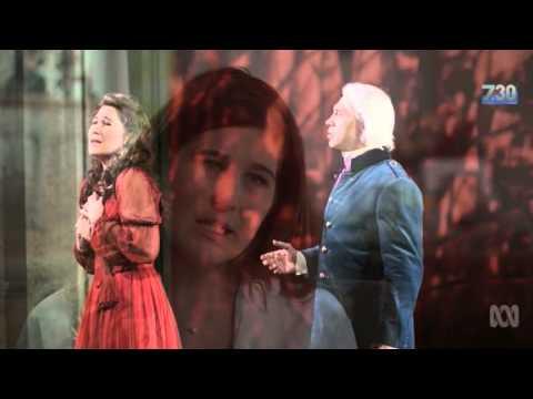 29 April 2016 - ABC 7.30 featuring opera singer Nicole Car