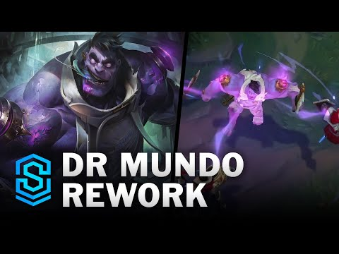 Dr. Mundo Reveal - The Madman of Zaun   REWORK