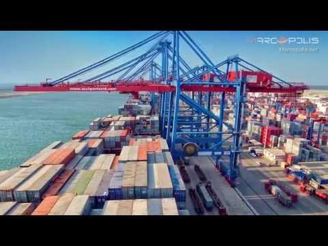 Suez Canal terminals: The Suez Canal Container Terminal (SCCT)