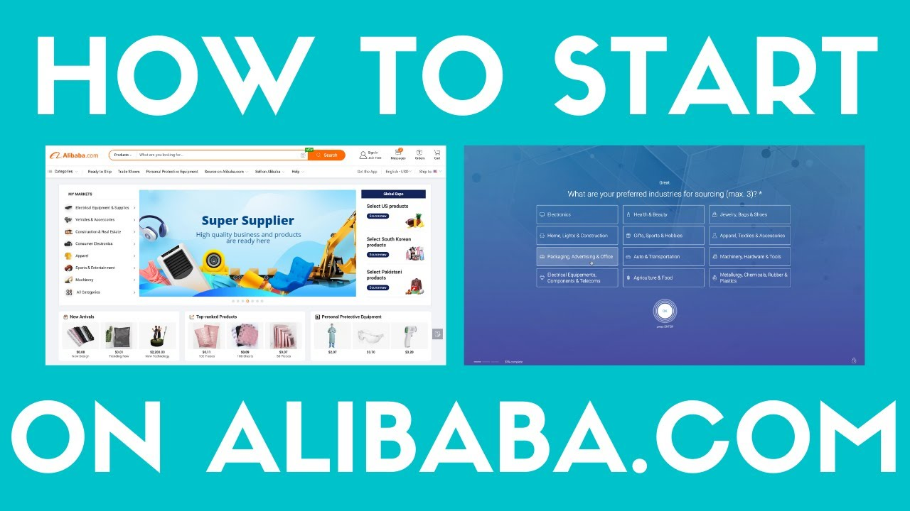 How To Open A Free Alibaba.Com Account To Source Products For Your Online Shop