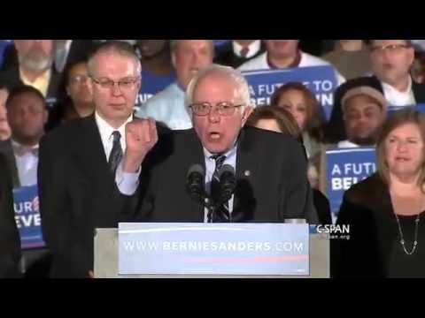 Bernie Sanders Victory Speech, New Hampshire Primary Feb. 9, 2016 [FULL]