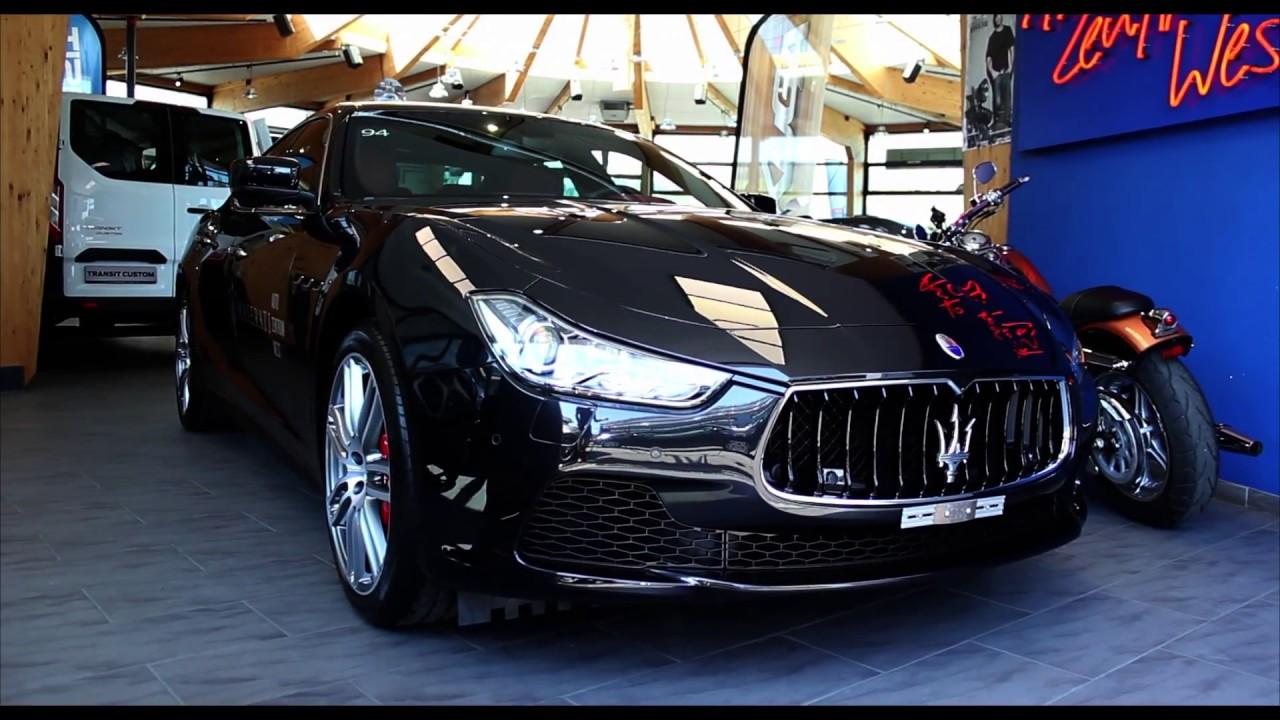 2015 Maserati Ghibli S Q4 3.0 V6 4X4 - www.az-west.ch - www.maserati-west.ch - YouTube