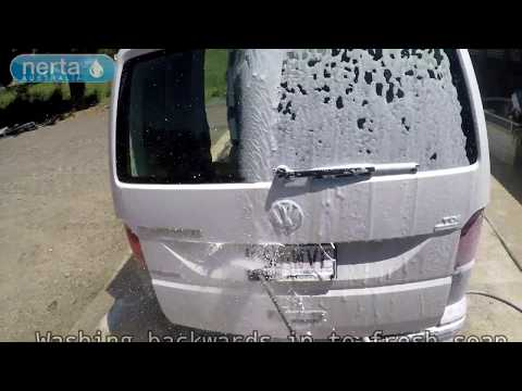 Touchless Van Wash