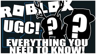 Everything You Need To Know About UGC! (ROBLOX EVENTS ARE COMING BACK?!) [ROBLOX[