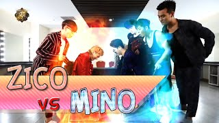 Video Block B:) ZICO vs MINO 발씨름! download MP3, 3GP, MP4, WEBM, AVI, FLV Juli 2018