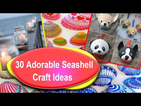 best-30-diy-seashell-decor-ideas