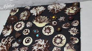 Dekoratif çikolata nasıl yapılır ? # çikolata dekoru