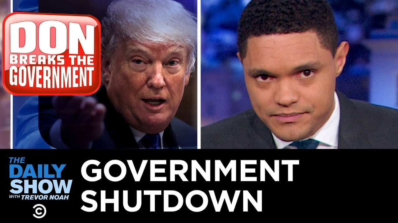 The Government Shutdown and Trump's Escalating Wall Gambit | The Daily Show