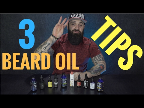 3 Things you NEED to know about beard oil