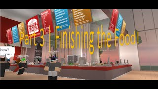 Roblox: How to Script a Cafe! Part 3 | Finishing the Food!