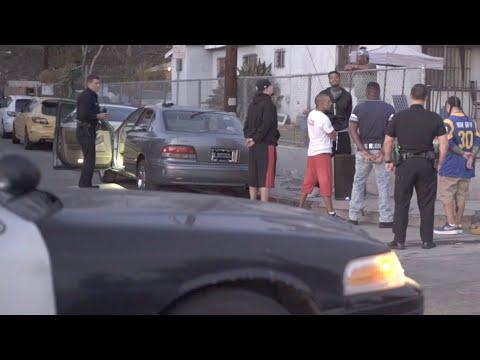 Compton And Watts Hoods At Night