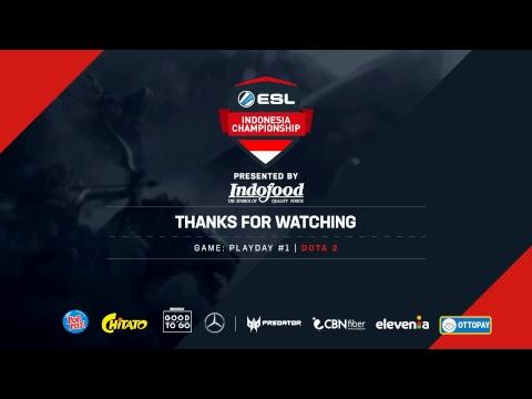 ESL Indonesia Championship - Dota 2: Matchday #1