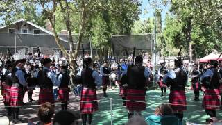 Wasatch & District Pipe Band Grade 3 Medley Pleasanton 2012