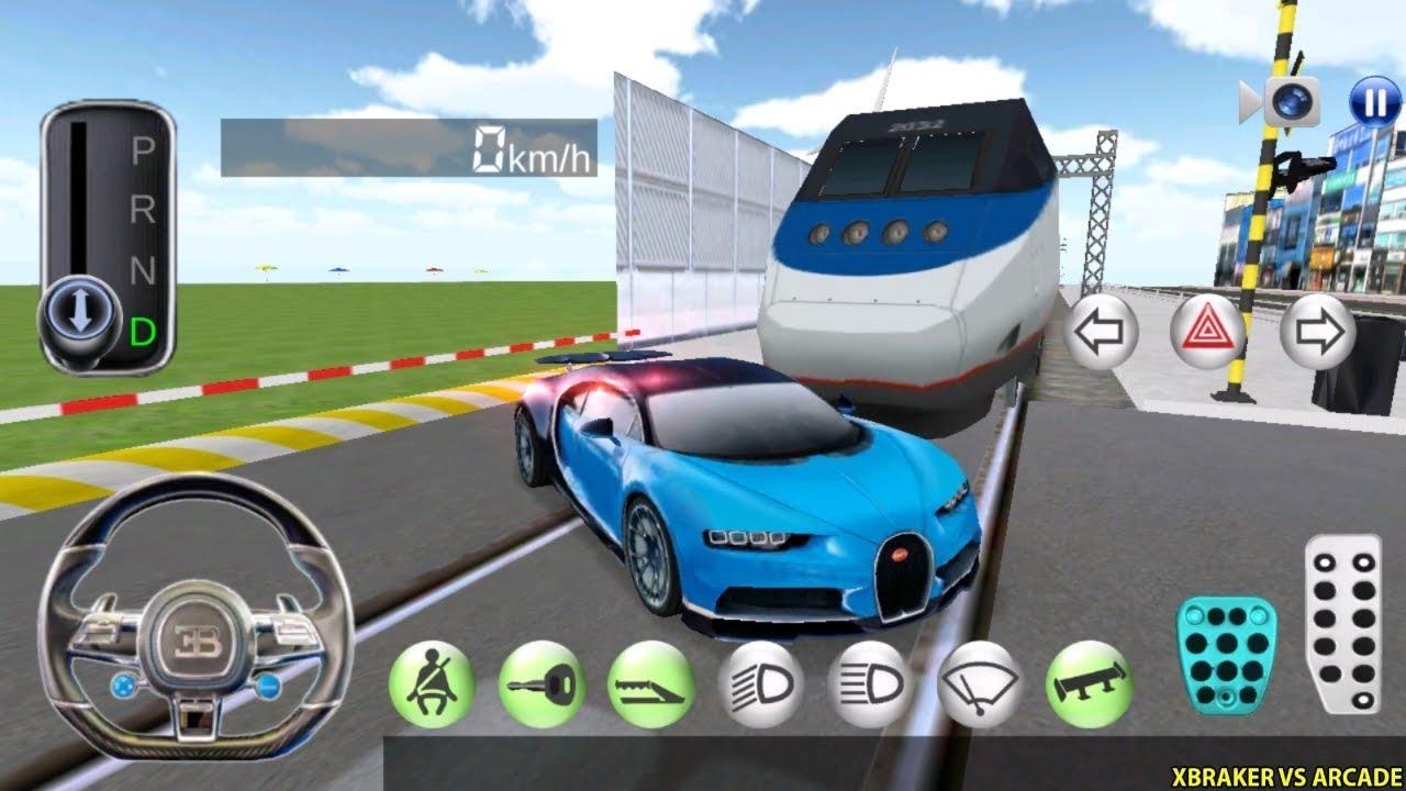 Korean Car Driving Simulator - New Car Unlocked #Bugatti - Driver's License Examination Gamepla