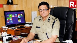 Republic TV Confronts Kolkata Police Commissioner Rajeev Kumar In Shillong