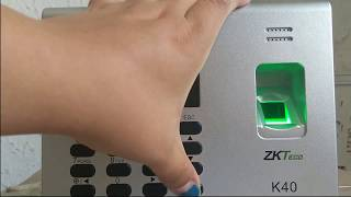Biometric Fingerprint ZKTeco K40 price in Egypt | Compare Prices