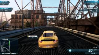 "NFS Most Wanted 2012: Old World Record ""Keys to the City"" [48.96] Porsche 911 Carrera S"