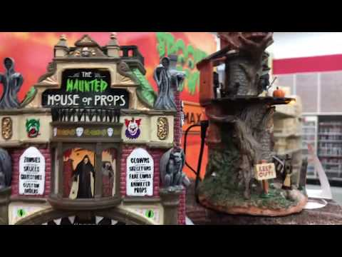 Lemax Spooky Town 2018 Halloween at Michaels