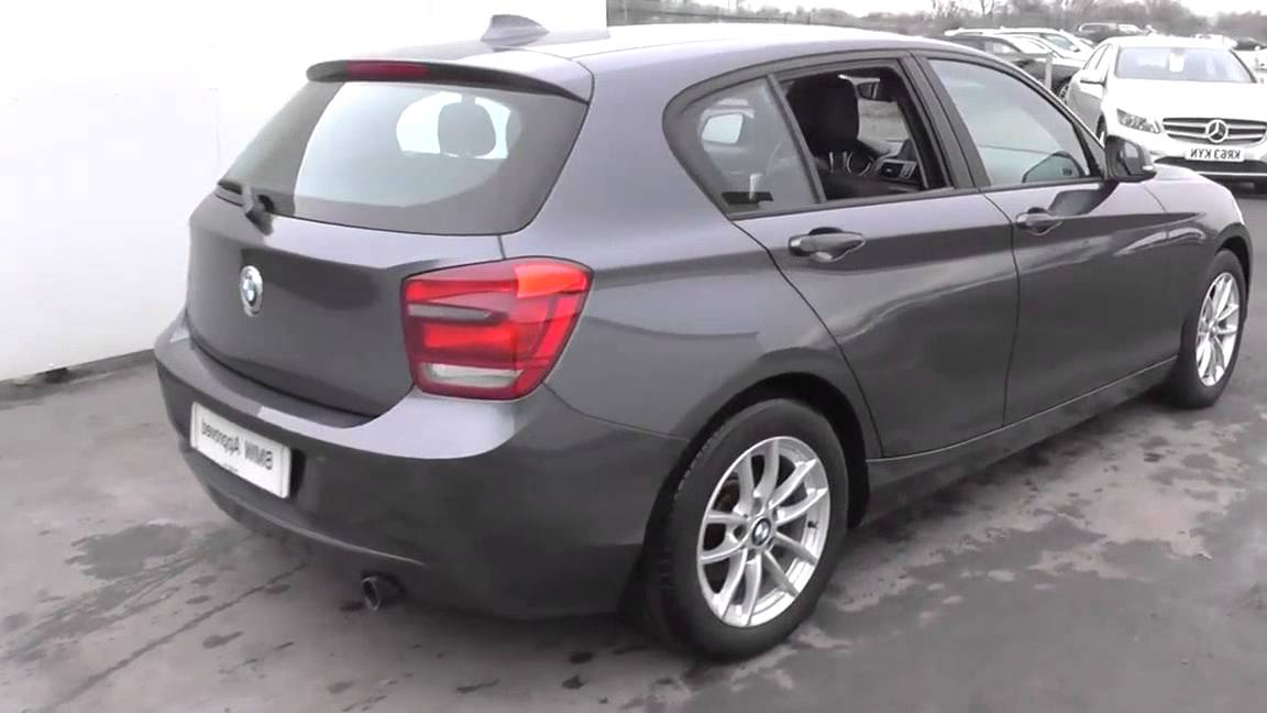 bmw 1 series 116d efficientdynamics 5dr u19177 youtube. Black Bedroom Furniture Sets. Home Design Ideas