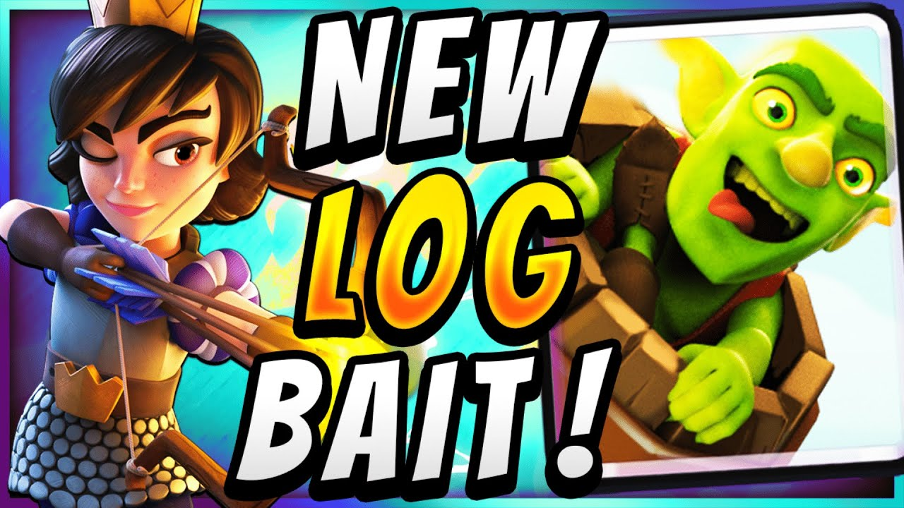 MORE OFFENSE THAN EVER! NEW BEST LOG BAIT in CLASH ROYALE!