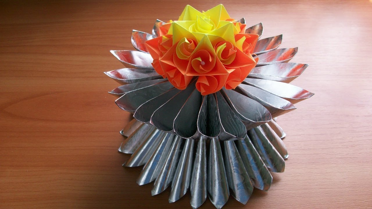 Easy And Unique Paper Crafts For Home Decoration For Birthday Party Christmas New Year Wedding