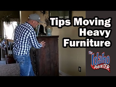 Moving Heavy Furniture Using Furniture Sliders. Moving Furniture Hacks. How  To Move Heavy Furniture.   YouTube