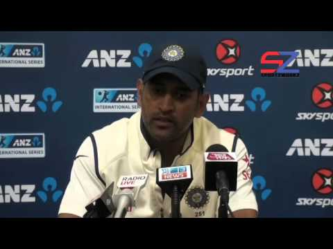 """""""We have more positives to take back from the series""""- MS Dhoni"""