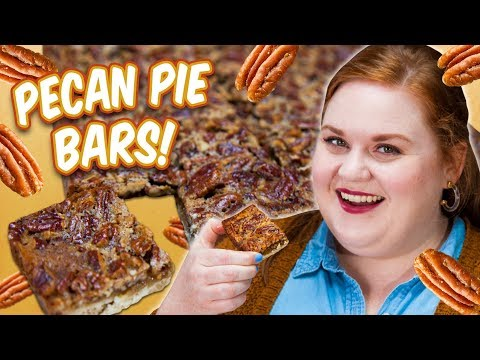 How To Make Elise's Southern Pecan Pie Bars | Smart Cookie | Allrecipes.com