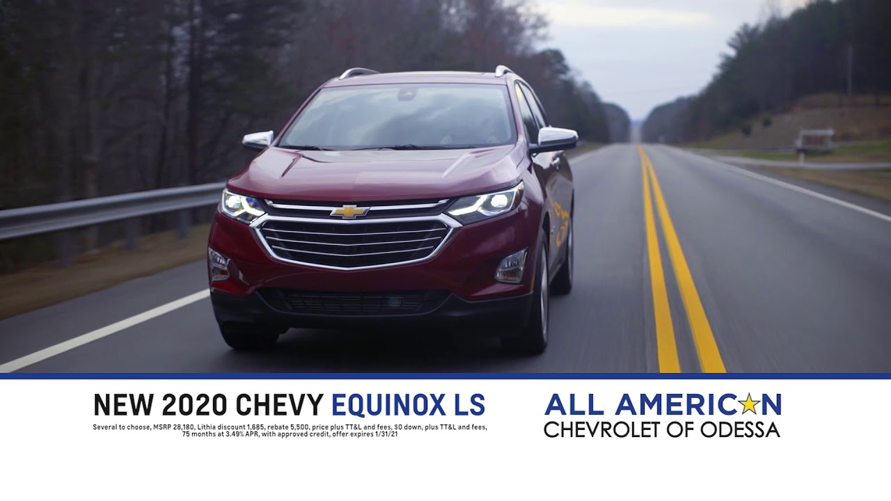Don T Miss The Huge Kick Off Sale At All American Chevrolet Of Odessa Youtube