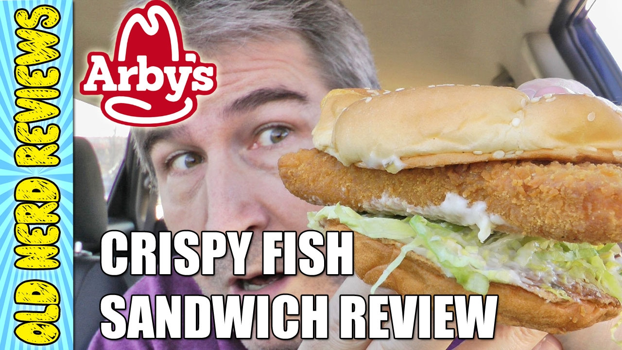 Arby 39 s crispy fish sandwich food review youtube for Good fish sandwich near me