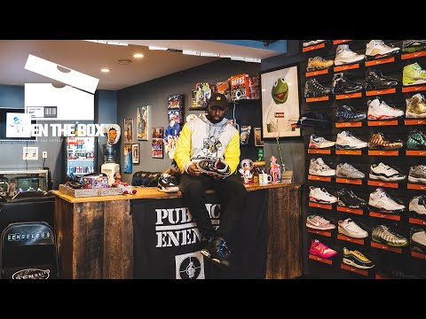 We Found One of the Best Vintage Collections in a Pittsburgh Sneaker Store | Open the Box