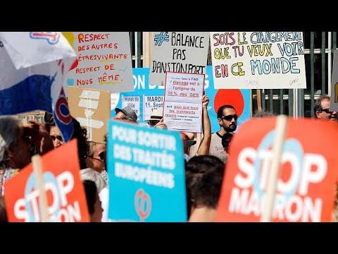 مظاهرات حاشدة في فرنسا للمطالبة بحماية البيئة  - 19:53-2018 / 9 / 8