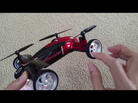 First Time Flying 2-in-1 Protocol Air Terracopter RC Car Quad Drone Full HD 2016