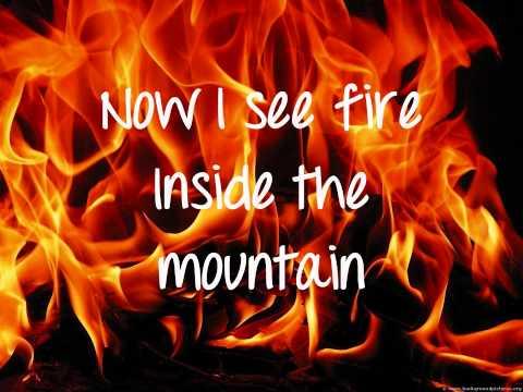 Ed Sheeran - I See Fire Lyrics