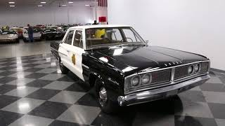 4594 CHA 1966 Dodge Coronet Police Car