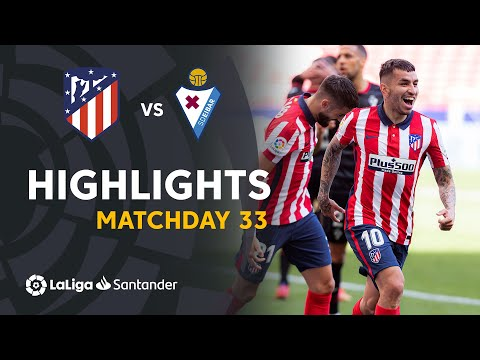 Atletico Madrid Eibar Goals And Highlights