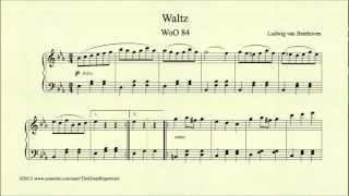 Beethoven, Waltz In E Flat Major, Woo 84