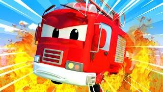 A Super Patrulha - O incêndio no hospital! - Cidade da Carro 🚓 🚒 Desenhos Animados para Crianças