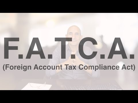 Qu'est-ce que le F.A.T.C.A (Foreign Account Tax Compliance Act) aux USA | Societes-USA