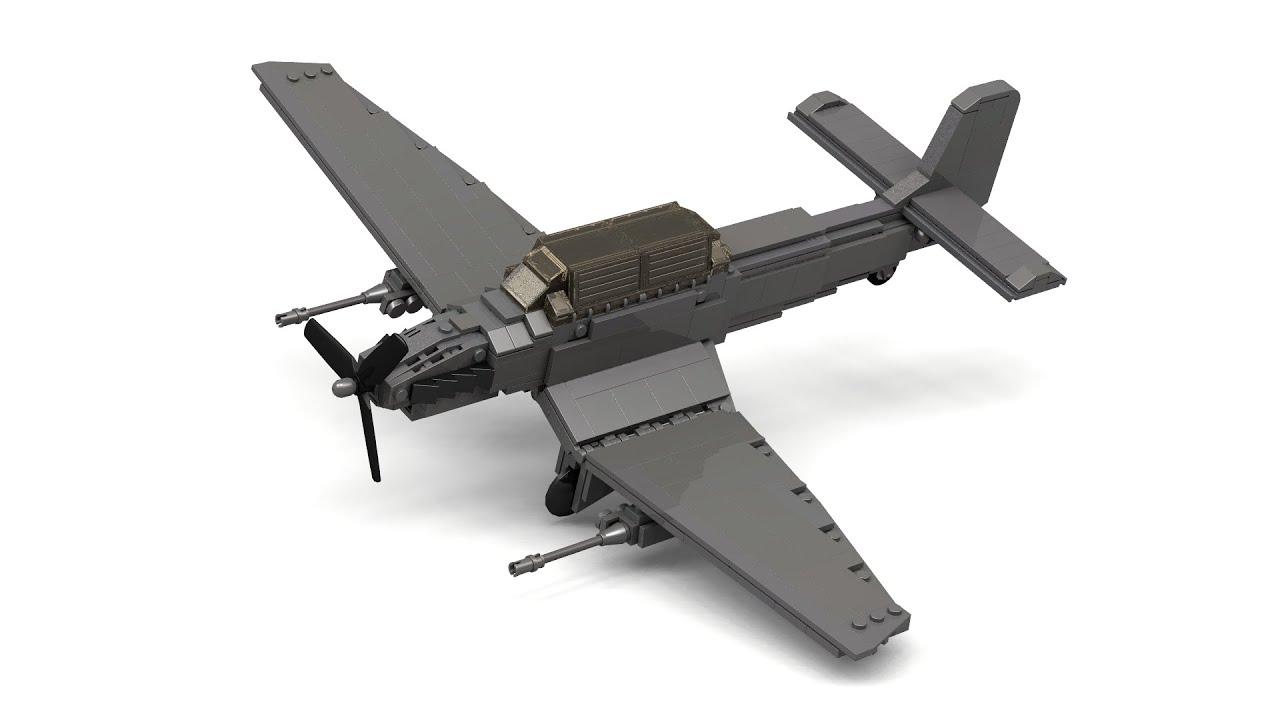 lego bomber plane instructions