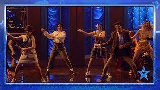 La BRUTAL COREOGRAFÍA de D'oo Wap que hace que Risto flipe | Semifinal 3 | Got Talent España 2019