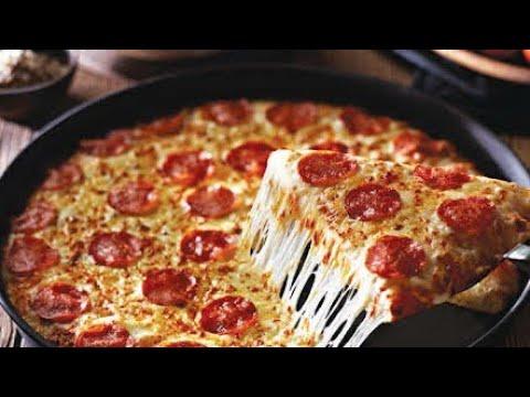 Como hacer Pizza Casera al Sartén