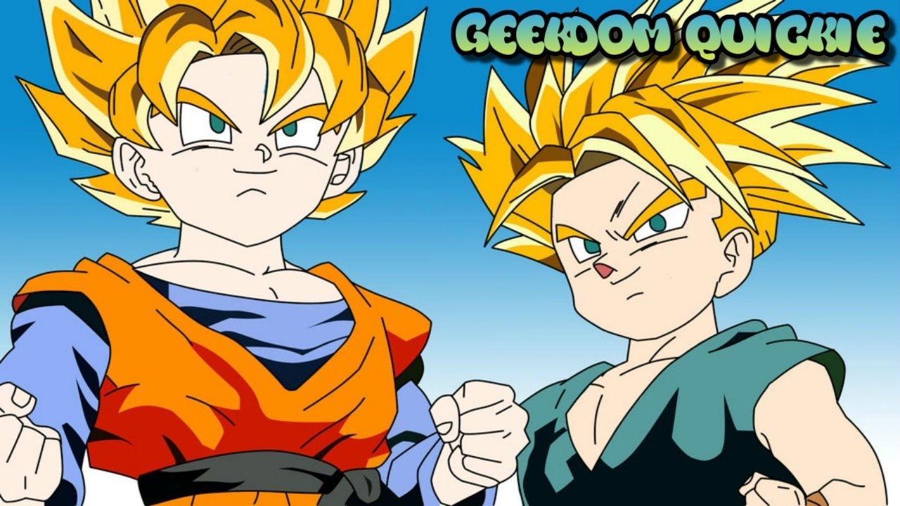 why do goten and trunks not have tails the real answer youtube