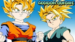 Why do Goten and Trunks NOT have tails? THE REAL ANSWER!
