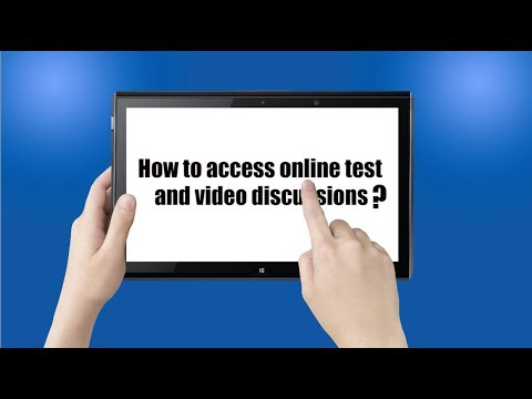 DBMCI - How to Access Online Test & Video Dissussion