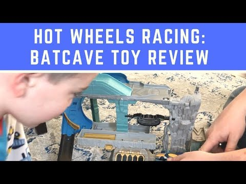 Hot Wheels Racing: Batcave Toy Review