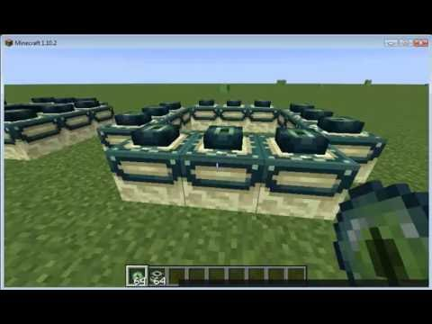 how to create an end portal in minecraft