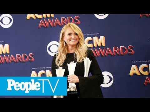 Miranda Lambert Talks Record Breaking ACM Wins: 'I Just Always Try To Live In The Moment' | PeopleTV