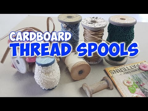 cardboard-thread-spools-look-like-wooden-vintage-thread-spools
